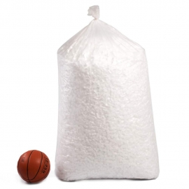 Bag of expanded polystyrene (cubes dices or pearls-balls) Void fill , Poly chips (0,33 m3)