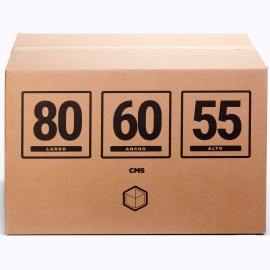 BIG XXL CARDBOARD BOX 31X23X21 IN | TELECAJAS