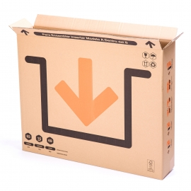 TeleCajas® |81x13x69 cms - Boxes for Paintings, TV, Mirrors