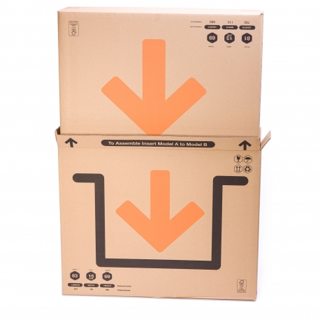 Large Cardboard Boxes for Paintings,