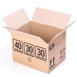 TeleCajas® |(10x) Moving Boxes 40x30x30 cms Removals