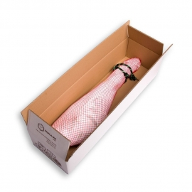 Iberian Ham cardboard box (85x25x16,30 cms) - Double wall Extrastrong