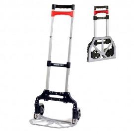 Hand Truck EASY Folding aluminum, Supports 68 kgs