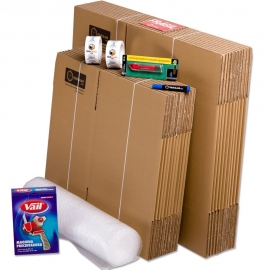 Moving kit 1 room telecajas