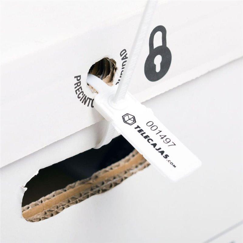 Caja archivadora con cierre de seguridad 46x37x40 cms for Cajas de carton madrid