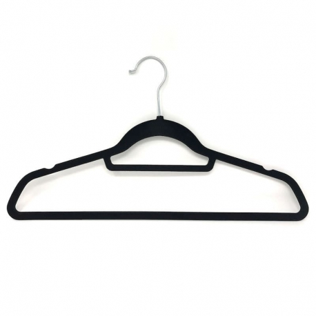 50 clothing Hangers non-slip space saving organized
