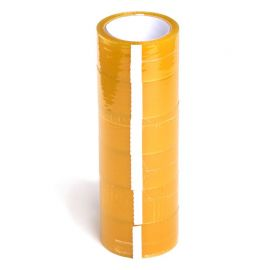 (x6) Sealing Tapes | Rol: 66 m x 50 cms | Color: Transparent