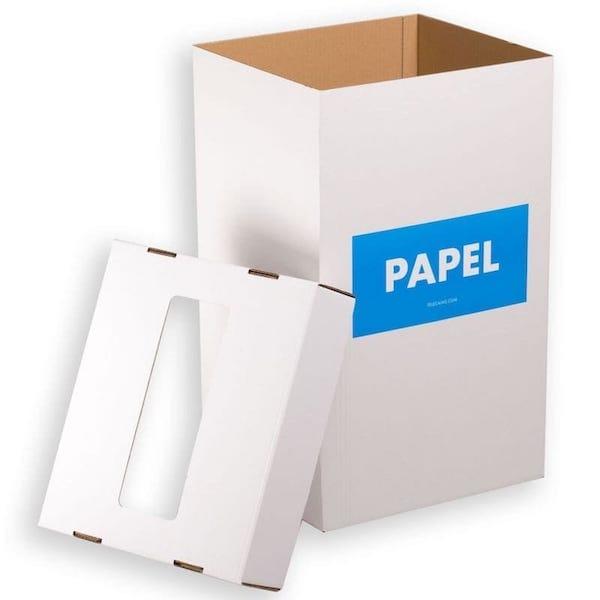 Cajas Papeleras para oficinas